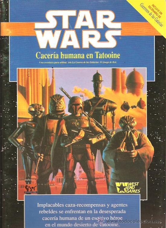 RESEÑA RECUPERADA Caceria Humana en Tatooine
