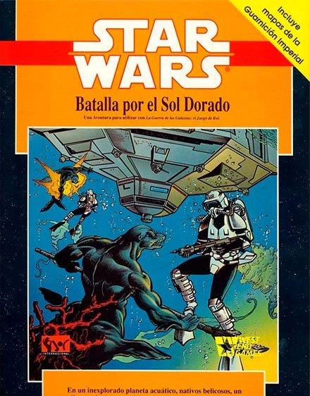 RESEÑA RECUPERADA BATALLA DEL SOL DORADO STAR WARS D6